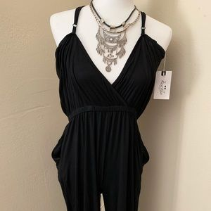 🛍 New with Tags Black Jumpsuit 🛍